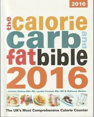 £9.99 • Buy The Calorie And Carb Fat Bible 2016 (Like New)