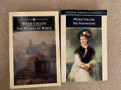 £5 • Buy Wilkie Collins 2 Book Set The Moonstone And Woman In White.   Penguin Classics.