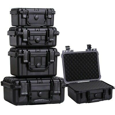 £50.70 • Buy ABS Plastic Sealed Waterproof Safety Tool Box Portable Instrument Equipment Case