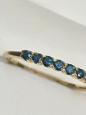 AU48.49 • Buy 9ct Gold Fine Sapphire ? Gemporia Ring Size U And 1.5 Grams 10k