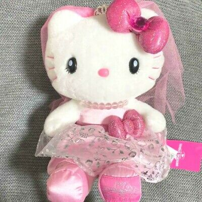 £34.69 • Buy USJ Limited Sanrio Hello Kitty Wedding Dress Plush Toy With Tag From Japan