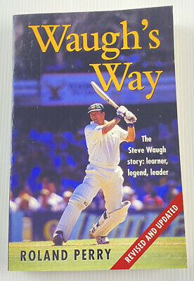AU14.95 • Buy Waugh's Way By Roland Perry Sports Cricket Biography Revised Paperback Book