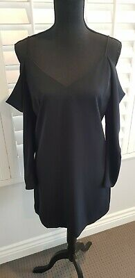 AU14.50 • Buy FOREVER NEW BLACK SIZE 8 DRESS With Tags