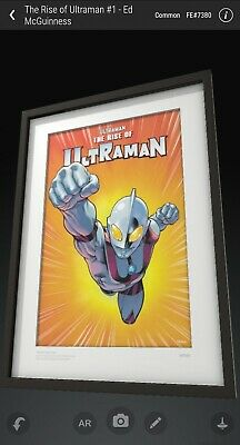 $45 • Buy VeVe NFT The Rise Of Ultraman #1 2D Yuji Kaida - UNCOMMON - FE#7380 *SOLD OUT*