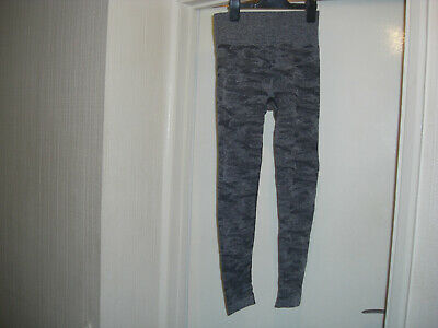 £3 • Buy Womens Sportswear Compression Leggings, Camouflage Grey, Size S, Excellent Cond.