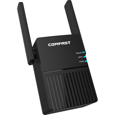 AU43.29 • Buy Smart 1200Mbps WiFi Repeater Extender Range Router Amplifier 2.4G/5GHz Dual Band