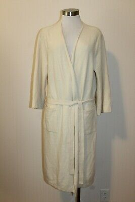 AU31.87 • Buy PURE COLLECTION $495 100% Cashmere Robe/ Dressing Gown Size XL FLAW