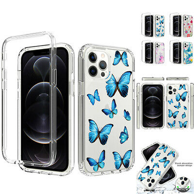 AU7.96 • Buy Case For IPhone 12 11 Pro Max XS XR 8 7 6 Plus SE Clear Shockproof Phone Cover
