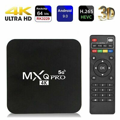 £6.99 • Buy MXQ Pro 4K Android TV Box Quad Core Android 9.0 HD 3D Media Streamer Player