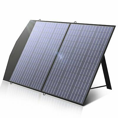 £129.99 • Buy 100W 18V Foldable Solar Panel Portable Solar Charger For Generator Outdoor Camp