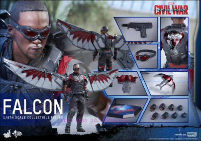 $ CDN1044.74 • Buy Hot Toys – Mms361 – Captain America: Civil War – 1/6th Scale Falcon  Action Toy