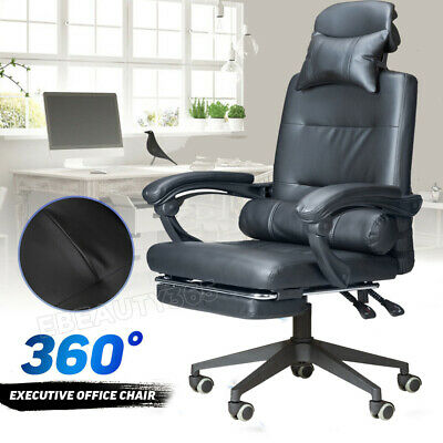 £59.99 • Buy Computer Chair High Back Office Chair Mesh Comfort Reclining Chair Adjustable