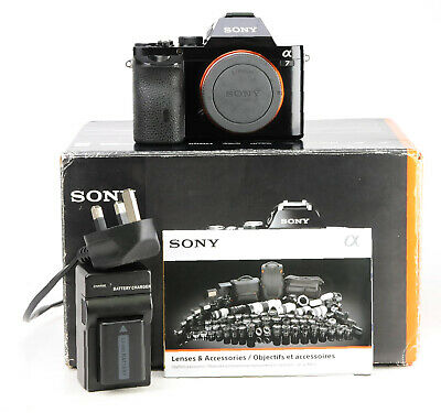 AU695.23 • Buy Sony A7 24.3MP Mirrorless Camera Body Only Boxed - Generic Battery & Charger VGC