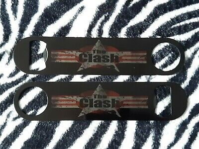 £6.99 • Buy The Clash... Bar Blade Bottle Opener - 7  Stainless Steel - Printed Both Sides