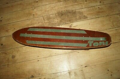 AU107.84 • Buy VTG 70'S Skateboard Deck With Love Is... Stickers ACS 430 Trucks Newporter Slick