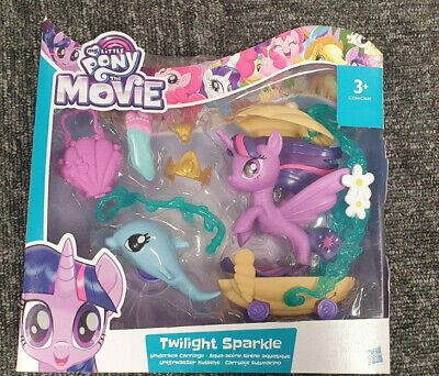 My Little Pony Movie Twilight Sparkle Undersea Carriage BNIB • 7.99£