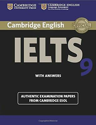 £9.09 • Buy Cambridge Ielts 9 Student's Book With Answers: Authentic E... By Esol, Cambridge