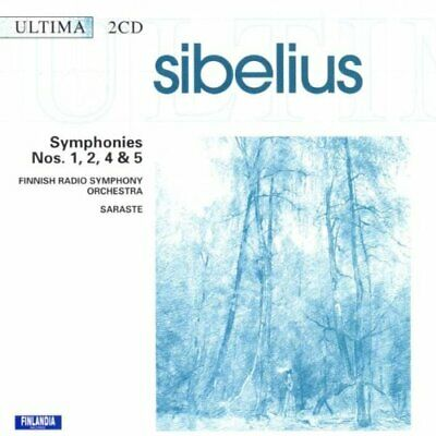 £3.49 • Buy Sibelius: Symphonies Nos 1, 2, 4 & 5 -  CD 8VVG The Cheap Fast Free Post The