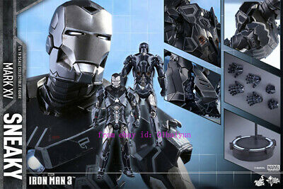 $ CDN590.08 • Buy Hot Toys – Mms348  Iron Man 3:  1/6th Scale Sneaky (Mark Xv) Action Figure Stock