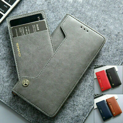 AU16.79 • Buy Samsung S21 Ultra Note 20 S20 Fe S10+ S9 Magnetic Flip Leather Wallet Case Cover