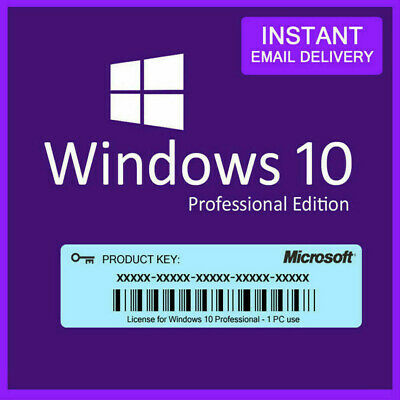 $ CDN9.66 • Buy 🔥instant 🔥window10 Pro Key🔥licence Activation🔥32-64 Bit