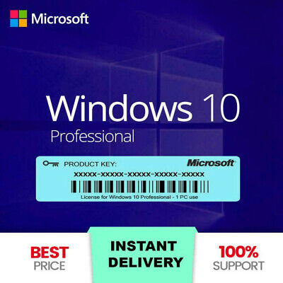$ CDN9.66 • Buy 🔥instant 🔥window10 Pro Key🔥online Activation🔥32-64 Bit