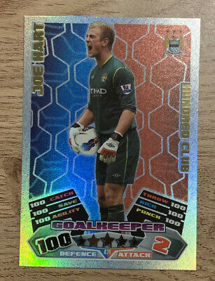 £3.50 • Buy Match Attax 2011/12 Joe Hart 100 Club