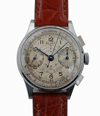 $ CDN24182.79 • Buy Vintage 1937 Authentic Rolex Chronograph Reference 2508 Original Dial Men Watch