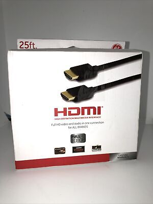 $ CDN8.46 • Buy 25ft HDMI Cable General Electric Brand New