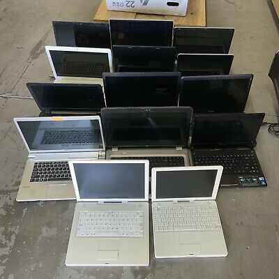 $ CDN302.49 • Buy Lot Of 14 LAPTOPS (APPLE , DELL,TOSHIBA, HP) I3,I5,I7 And Other For Parts And Re