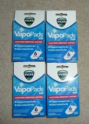 $ CDN21.75 • Buy Vicks VapoPads 24 Ct Soothing Menthol Vapor Pads For Vicks Humidifiers Plug-Ins