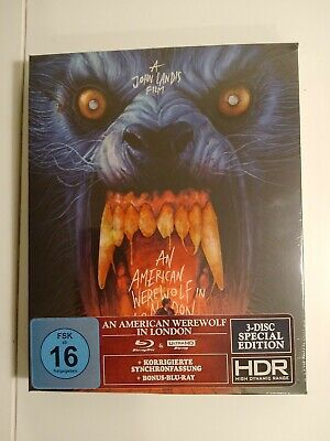 £54.95 • Buy An American Werewolf In London / 4KUHD / Blu Ray / New/ Sealed /Special Edition