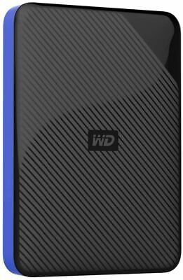 AU86.82 • Buy WD 4TB Gaming Drive Works With Playstation 4 Portable External Hard Drive - WDBM