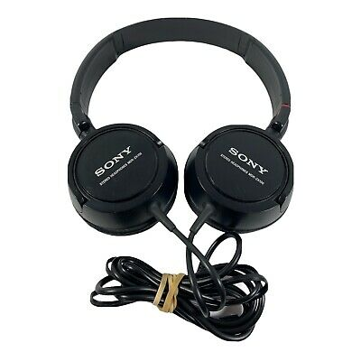 £10.86 • Buy Sony MDR-ZX100 Wired Headband Stereo Over The Ear Headphones Black Tested