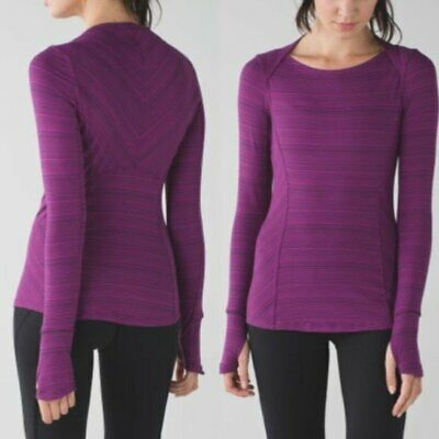 $ CDN46.10 • Buy Lululemon Kanto Catch Me Long Sleeve Sz 4