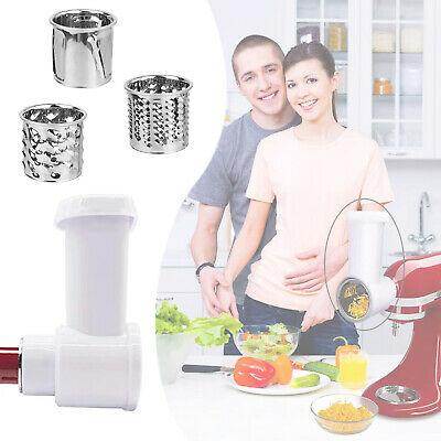 £21.66 • Buy For KitchenAid Stand Mixer Vegetable Slicer/Shredder/Cheese Grater Attachment UK