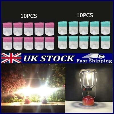£6.43 • Buy 10 X Small/big Standard Camping Lamp Mantle Pre-tied Replace Gas Light Mantles