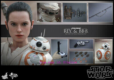 $ CDN390.13 • Buy Hot Toys – Mms337 – Star Wars: The Fore Awakens 1/6th Scale Rey & Bb-8  Action