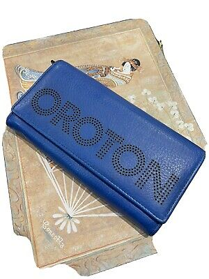 AU35 • Buy Blue Oroton Wallet, Genuine Leather. Brand New. Very Unique And Practical.