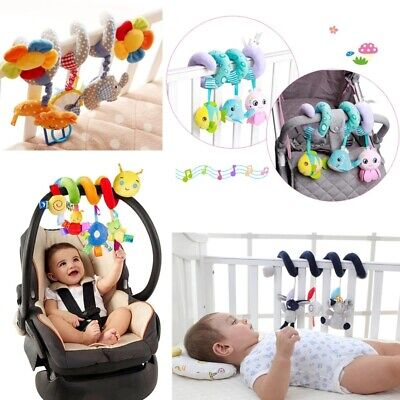 £6.99 • Buy Baby Activity Spiral Hanging Toy For Pushchair Pram Stroller Car Seat Cot Bed UK