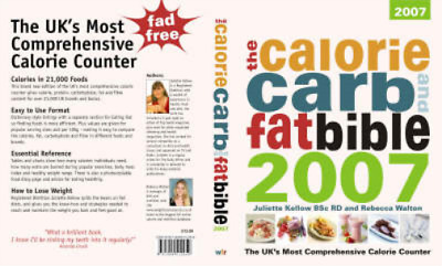 £3.28 • Buy The Calorie, Carb And Fat Bible 2007: The UK's Most Comprehensive Calorie Counte
