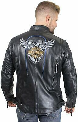 $ CDN170.51 • Buy Men's Harley Davidson 115th Anniversary Limited Edition Leather Jacket
