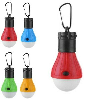 £3.14 • Buy 1pc ABS Mini LED Camping Tent Light Outdoor Hike Fishing Lantern Lamp Equipment