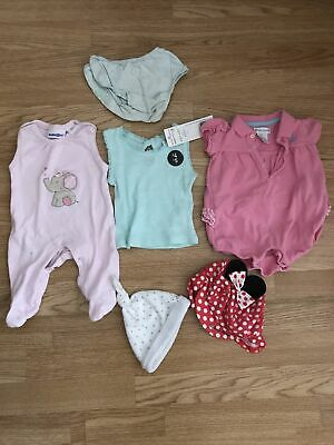 AU1.81 • Buy Baby Girls Clothes 0-3 Months Bundle Mixed