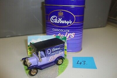 £2.95 • Buy Lledo 1920 Model T Ford Van Cadbury's Chocolate Eclairs With Tin (43)