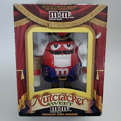 £24.81 • Buy M&M's Christmas Nutcracker Chocolate Candy Dispenser Limited Edition (New)