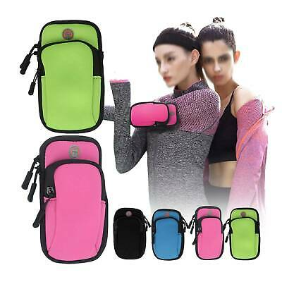 £4.59 • Buy Sports Armband Phone Holder Arm Band Case Gym Running Pouch Jogging Exercise Bag