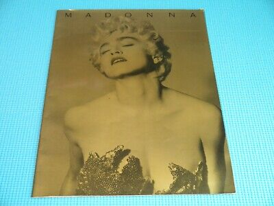£10.64 • Buy MADONNA Who's That Girl World Tour Book 1987 Japan