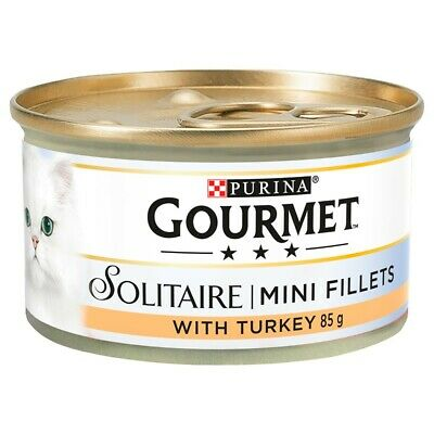 £12.88 • Buy Purina Gourmet Solitaire Cat Food Cans (12 X 85G)