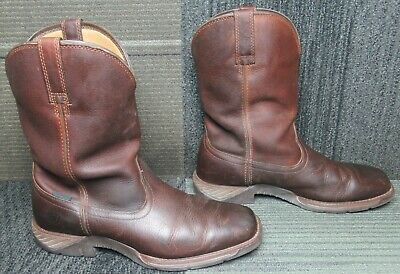 $ CDN24.86 • Buy Mens ARIAT Ranch Work Waterproof Soft Toe Leather Western Boots Sz 11.5 EE
